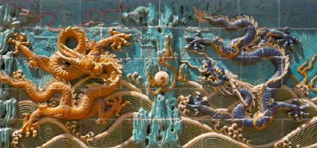 what does the dragon and phoenix symbolize in feng shui chinese feng shui dragon
