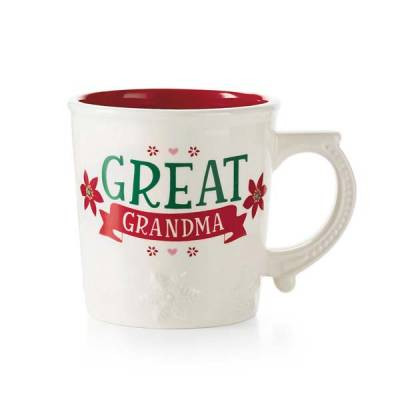 great grandma winter mug
