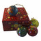 Keepsake box with paper mache ornaments
