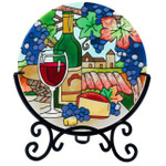Wine Country Candle ware table topper
