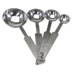 Stainless Steel Kitchen Measuring Set of 4  Spoon