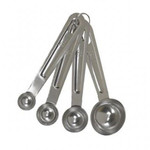 Bradshaw International 4 Piece Stainless Steel Measuring Spoon