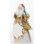santa carry tree figurine