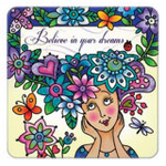 believe in your dreams magnet