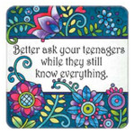 teenagers know everything magnet