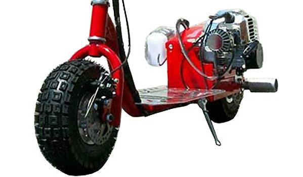 dirt dog 49cc gas scooter engine