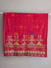 Rajastani Red Gypsy Shawl