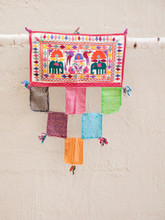 Small Wall Hanging with Elephants