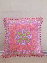 Pink Suzani Cushion