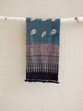 Printed and Tie-dyed Kashmiri Wool Scarf