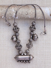 Antique Silver Jantar Necklace