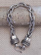 Large Plait Chain Bracelet