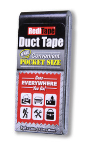 Black Pocket Size Duct Tape