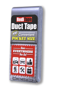 Silver Pocket Size Duct Tape