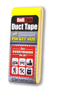 Yellow Pocket Size Duct Tape