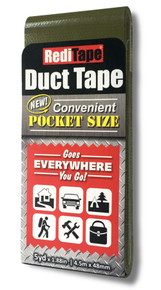 Olive Drab Green Pocket Size Duct Tape