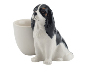 Cavalier King Charles Spaniel Egg Cup Tri