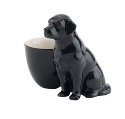 Labrador Egg Cup Black