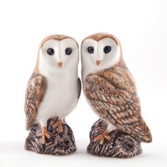 Barn Owl Salt and Pepper