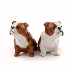 English Bulldog Salt and Pepper