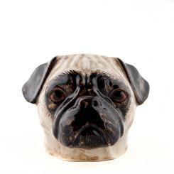 Pug face Egg Cup Fawn