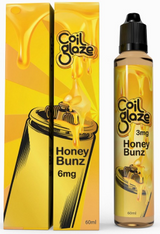 Coil Glaze - Honey Bunz - A delectable pastry infused with cinnamon sugar. topped with a honey glaze icing. this decadent vape will satisfy the sweetest sweet tooth.