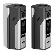 The Wismec Reuleaux RX2/3 200W TC Box Mod by Jay Bo Designs integrates an intuitive chipset and build design that allows users to easily switch between a dual-18650 battery bay or the signature triple-18650 battery chassis, switching maximum power of 150W or 200W.