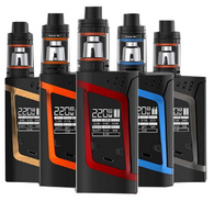 The SMOK Alien 220W TC Starter Kit is truly out of this world, integrating a unique statement piece with ultra-performance chipset with 220W of maximum power and full temperature regulation alongside the widely popular TFV8 Baby Beast Tank.