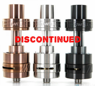 The Uwell Crown Sub-Ohm Tank 2 by Uwell is the updated version of the popular Uwell Crown. The Uwell Crown 2 features a large 5ml e-Liquid capacity quartz glass tank in a 24mm diameter stainless steel construction build. The Uwell Crown 2 now features a leak resistant top fill design which utilizes a juice tank locking screw to help minimize leaks. The Uwell Crown 2 has an improved chimney design for stronger flavor.The Uwell Crown 2 also features a dual adjustable airflow ring at the base of the tank to customize your vaping experience to your own preferences. The Uwell Crown 2 features new Parallel Coil atomizer heads which are designed with a cone-shape positive connector for smooth airflow. The Uwell Crown 2 offers the ability to use SUS316L 0.25ohm and 0.5ohm for great amounts of flavor and vapor production. Kanthal 0.8ohm atomizer heads are also available as well.