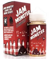 Jam Monster - Strawberry - 100ml (Strawberry Jam, Butter, Toast)