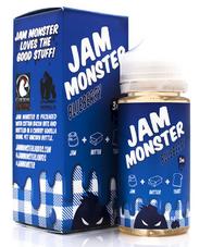 Jam Monster - Blueberry - 100ml (Blueberry Jam, Butter, Toast)