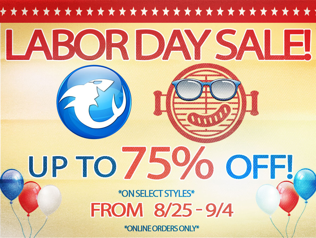 Our Labor Day Sale is Coming...