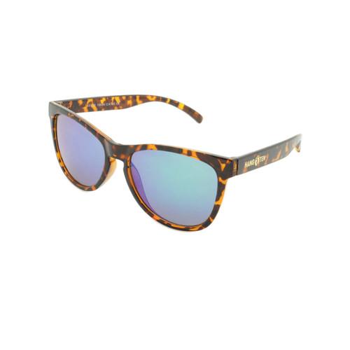 Hangten Kids Sunglasses Cove Collection Demi Tortoise Gold Hangten Logo Revo Lens Wholesale HTK09B