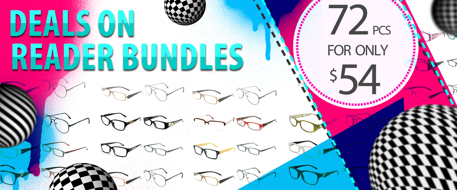 Reading Glasses 6 Dozen BUNDLE Sunglasses Wholesale Bulk - Los Angeles