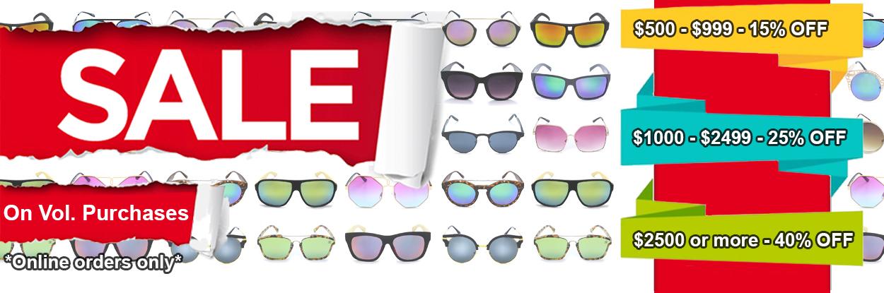 Shark Eyes Wholesale  Sunglasses Reading Glasses Volume Discount Sale