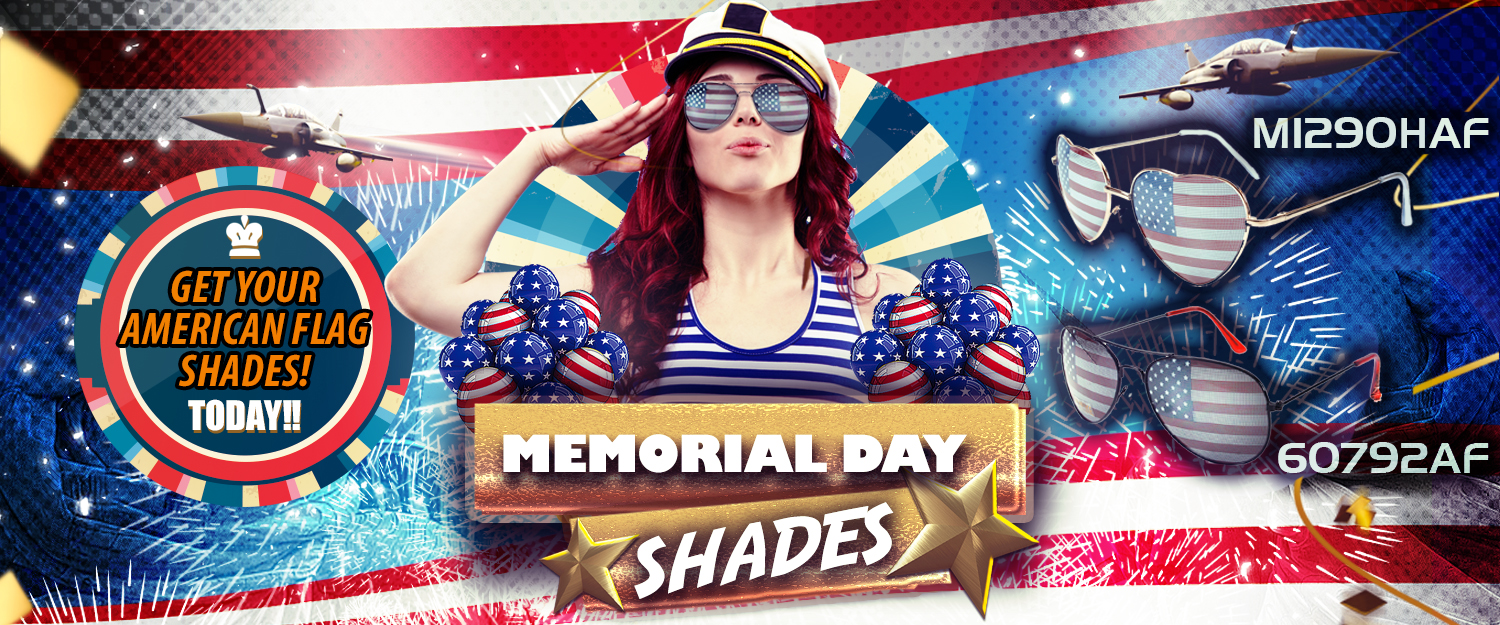 Wholesale American Flag Sunglasses Memorial Day