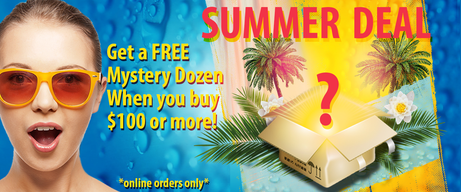 Summer Deal-Free Gift With Purchase Mystery Dozen