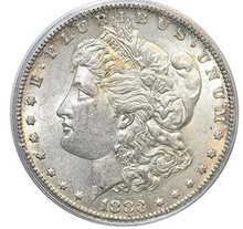 Buy 1883-S Morgan Dollar AU55 online at Park Avenue Rarities today - Free shipping on all orders.