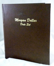 Our Morgan Dollar 32 Coin Collection comes protected in its own leather album case.