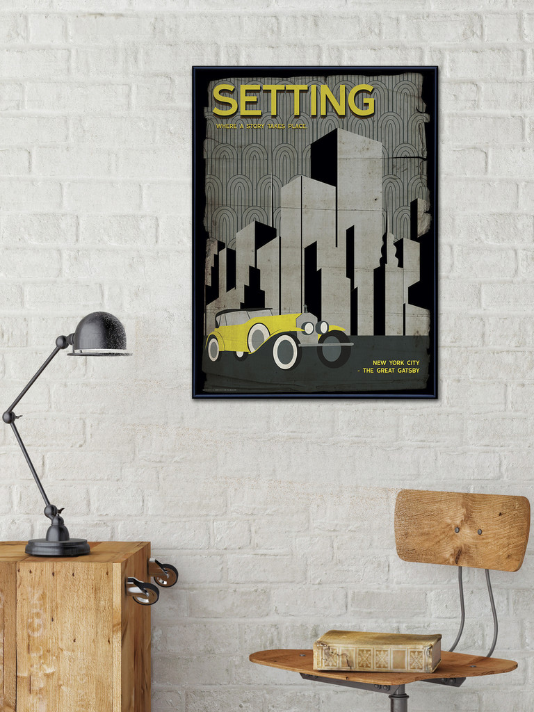 Elements of a Novel - Set of 8 Literary Posters for Classrooms