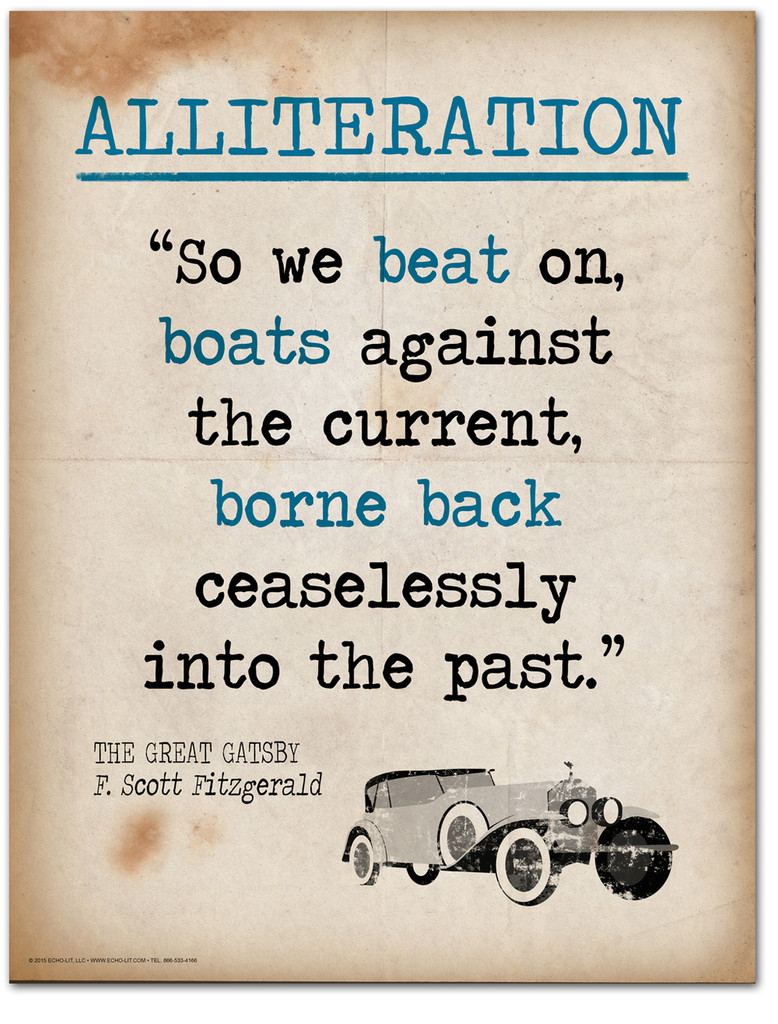 Alliteration-Literary Terms