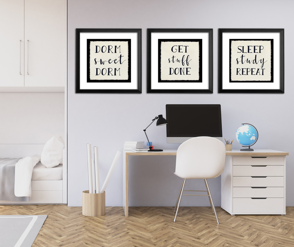 Dorm Sweet Dorm - Fine Art Print For Dorm, Classroom, or Home.
