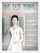 Last Words Famous Authors Literary Fine Art Print Featuring Dickinson, Thoreau, Kafka, and Wilde