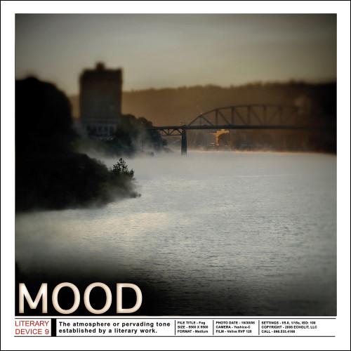 Mood - Literary Classroom Art Print