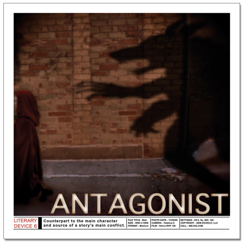 Antagonist Literary Poster