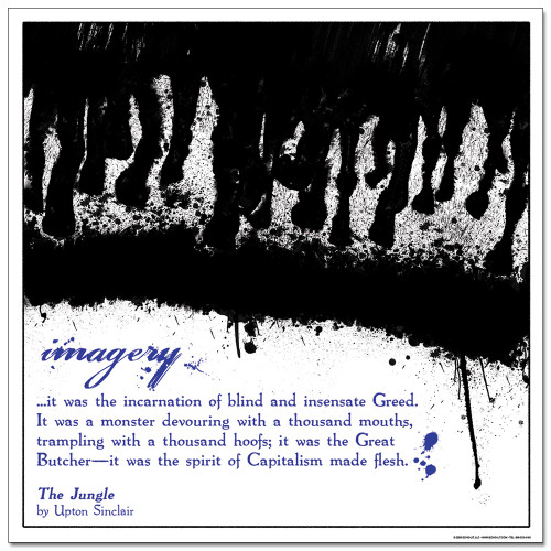 Imagery Literary Poster
