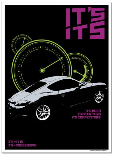 Its/It's Language Arts Poster