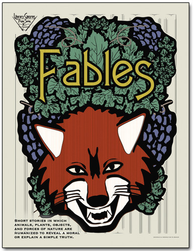 Fables Literary Poster