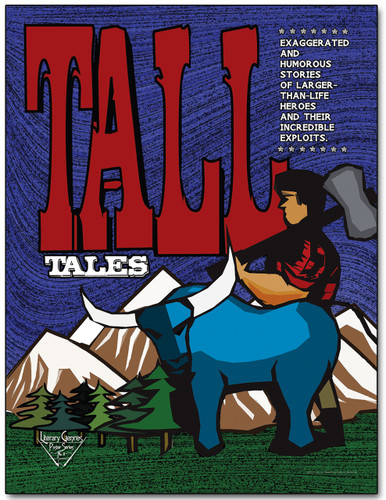 Tall Tales Literary Poster