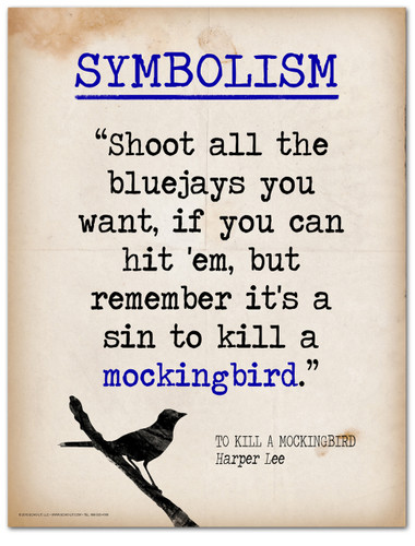To Kill a Mockingbird Symbolism-Literary Terms